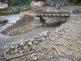 Český Krumlov, Weir
