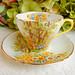 Shelley Fine Bone China Cup & Saucer ~ Daffodil Time