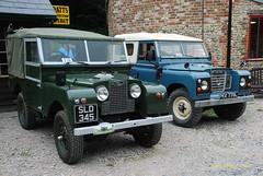 SLD345 1956 Land Rover, PKX779L 1972 2286cc Land Rover