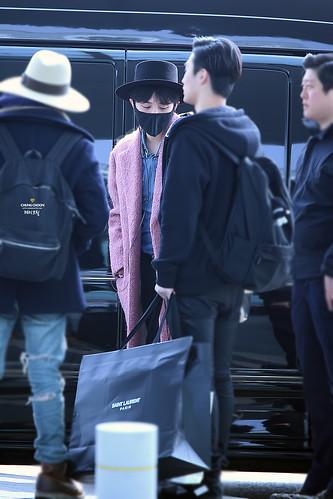 Big Bang - Incheon Airport - 21mar2015 - G-Dragon - avril_gdtop - 04