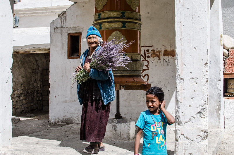 gente de Wanla en Ladakh