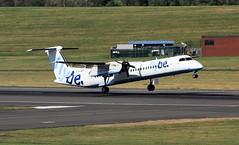 G-JECI DHC-8-402 Flybe BHX 30-08-16