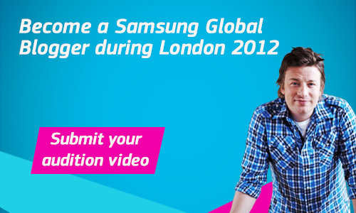 Samsung Global Bloggers - I want to win a FREE Trip to London for Olympic 2012!