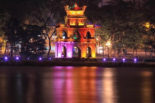 Tortoise Pagoda - Hoan Kiem Lake