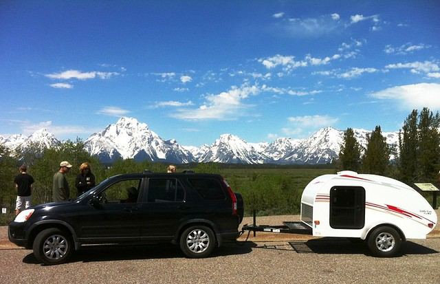 Customer Photo - Grand Tetons Panorama