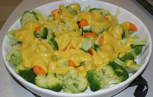 Cheesy Broccoli - oh yeah. So little effort required for so much flavour!