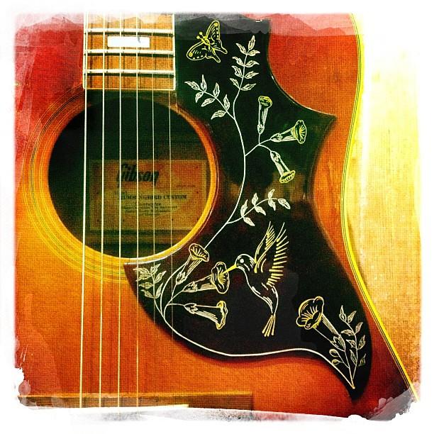Nice #1973 #Gibson #hummingbird #guitar