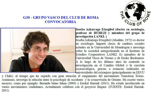 G30 - GRUPO VASCO DEL CLUB DE ROMA