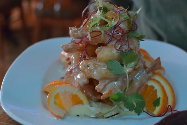 Grand Marnier Shrimp