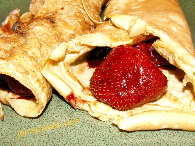 Lower Carb Crepes