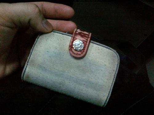 오래된 카드지갑 by kiyong2