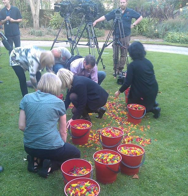 Jellybaby stunt 2