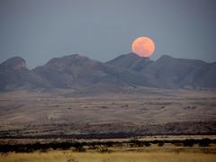 [フリー画像素材] 自然風景, 山, 月, 風景 - アメリカ合衆国 ID:201205141200