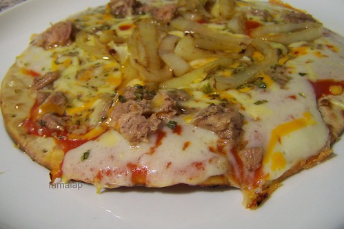 Pizza con tortillas Nagual