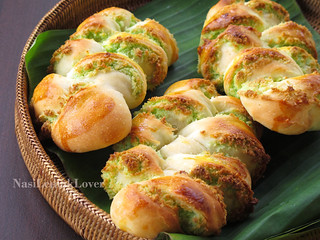 Plaited Coconut Bread 椰子面包