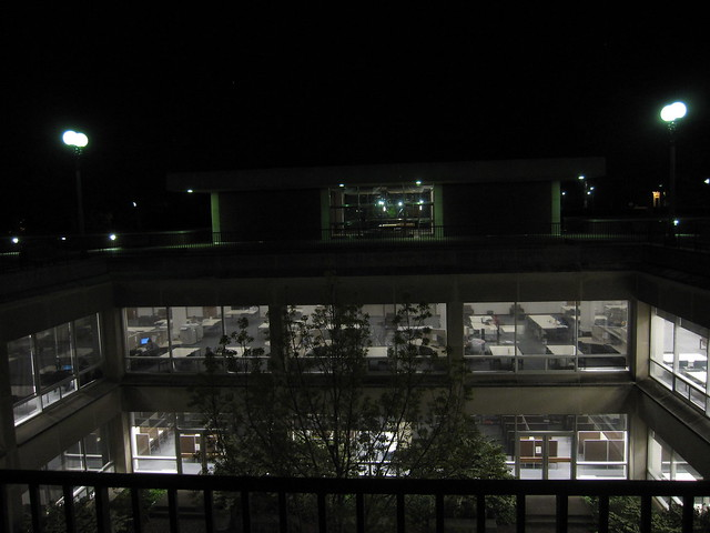The UGL at night