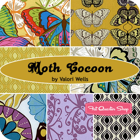 Moth Cocoon Fat Quarter Bundle Valori Wells for Free Spirit Fabrics  -- Friday's Giveaway!!