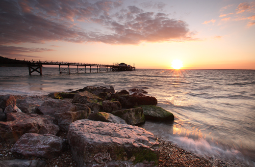 Totland Bay Sunset
