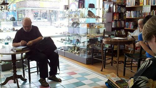 Joe Haldeman at Wild Iris Books
