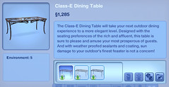 Class-E Dining Table