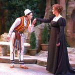 Twelfth Night L-R Kate Berry  (Viola)_Rachel Fowler (Olivia) photo P. Switzer -