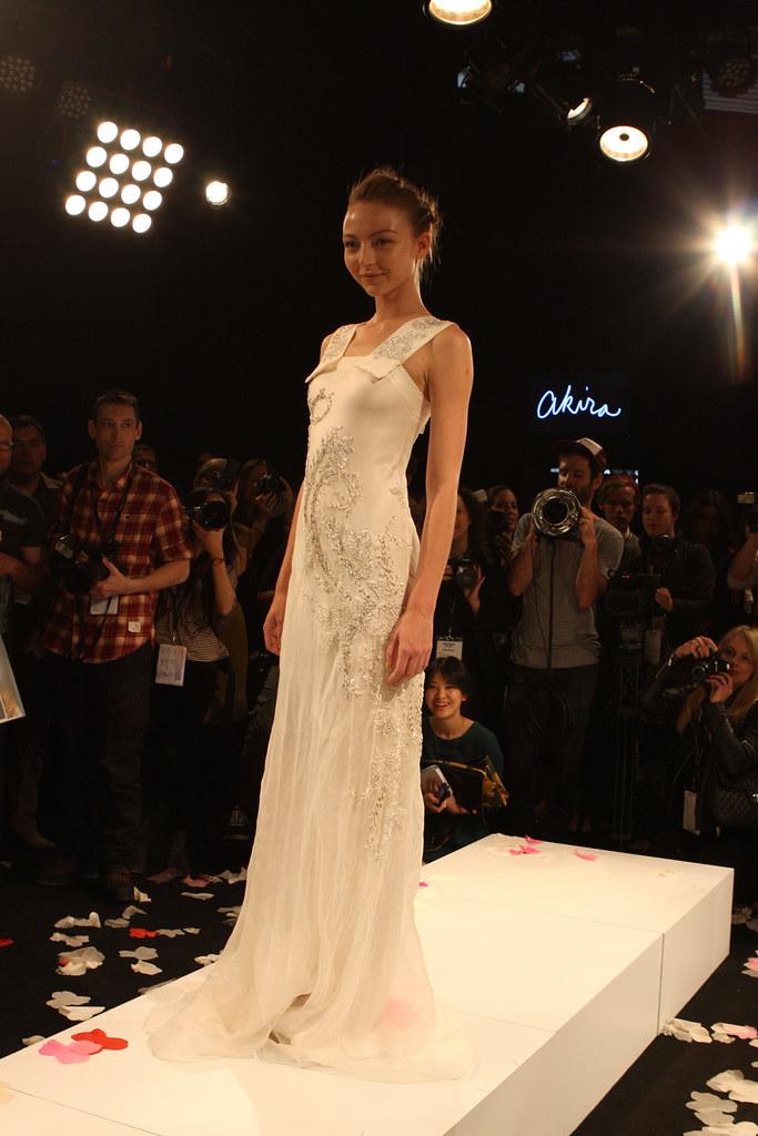 Akira | Sydney Australia, A model showcases designs by akira
