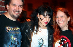 20110917 - Atari Teenage Riot @ 930 Club - 0 - Clint, Nic Endo, Carolyn - (by AE) - 6304746420_311691e559_b