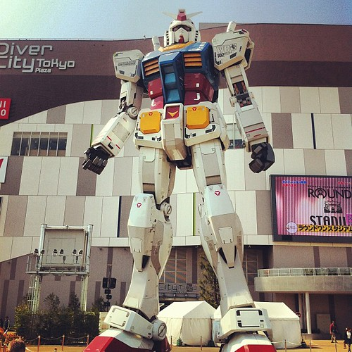 Gundam en #Odaiba #tokyo #japan #gundam (gracias @julencin2000 !!!)