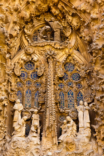 Sagrada Familia: Nativity Facade