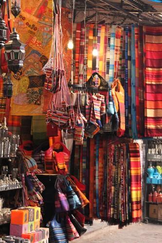 The Souks in Marrakesh