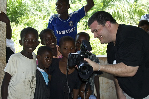 On assignment in Ghana with the ONE Campaign