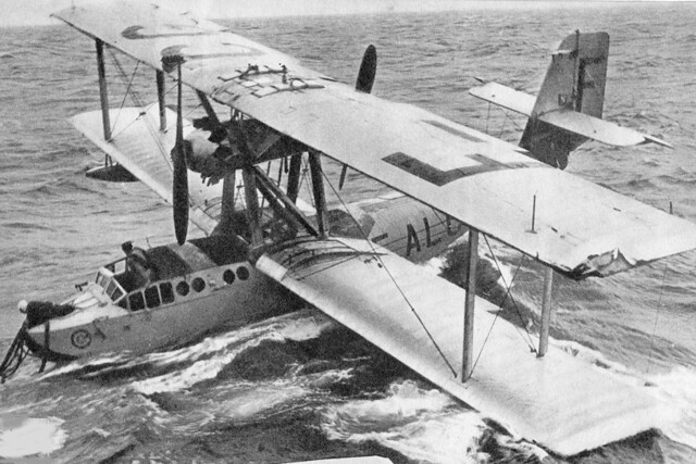 CAMS 53, Jean Mermoz at the controls, 1932
