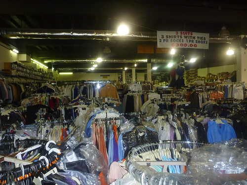 The Soul Train Suit Warehouse. Photo by Melanie Merz.