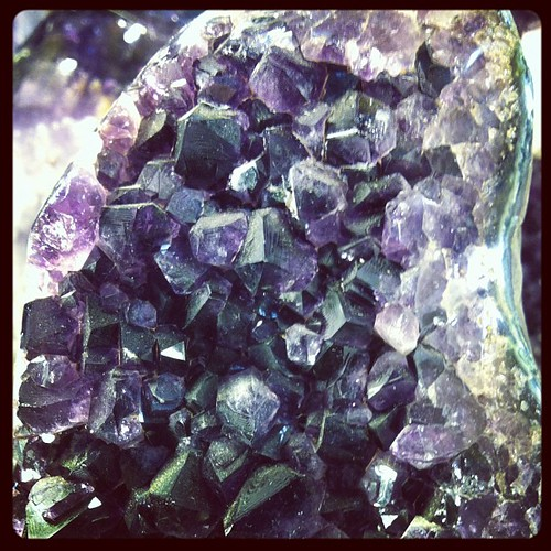 Amethyst. Found a cathedral geode for the bargain price of 3500 bucks!