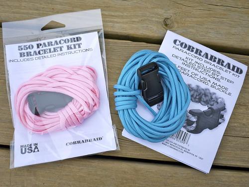 Cobrabraid Paracord Bracelet Kits