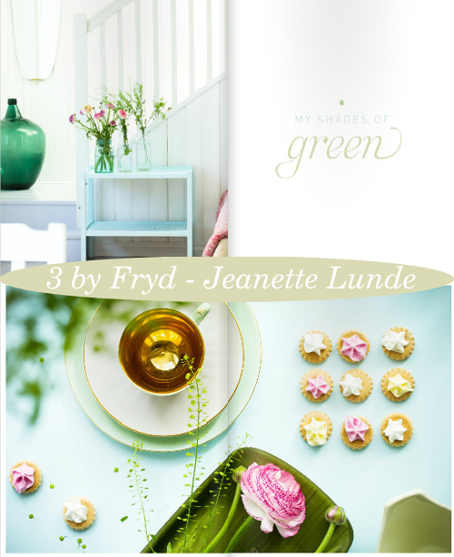 Some of my favourite pages from '3 by Fryd' by Jeanette Lunde | Emma Lamb