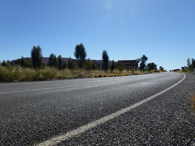 Uluru, southern side