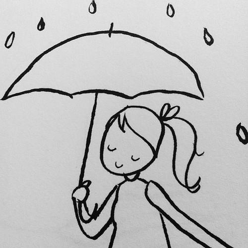 Umbrella girl.