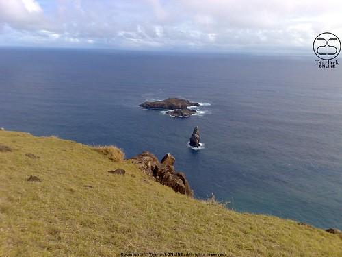 Motu Nui, Motu Iti and Motu Kao Kao - Easter Island by TsarlackONLINE