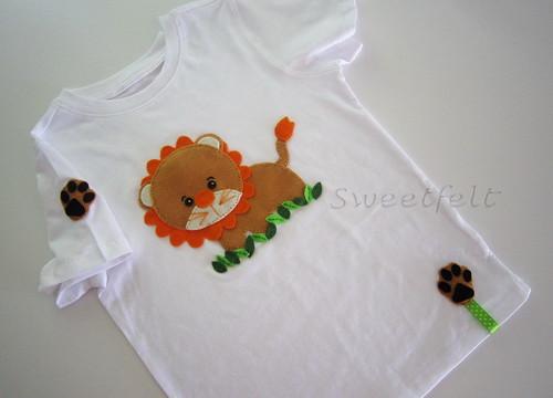♥♥♥ Para o Henrique que adora leões... by sweetfelt \ ideias em feltro