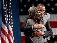 Tami and President Obama