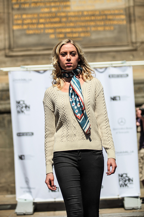 NE1's NFW 2012 - 27th May - Full Barbour Fashion Show-620-1
