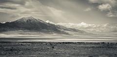 [フリー画像素材] 自然風景, 山, モノクロ, 風景 - アメリカ合衆国 ID:201206011600