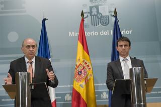Manuel Valls y Jorge Fernández Diaz