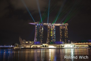 Singapore - Marina Bay Sands Light Show
