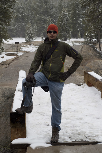 Jeff in the snow