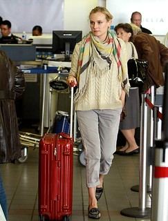 Diane Kruger Studded Loafers Celebrity Style Women's Fashion