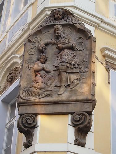 Old Prague Plaque