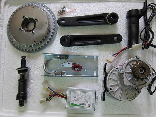 moteur pédalier