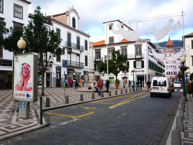 Madeira Hauptstadt Shopping Flair